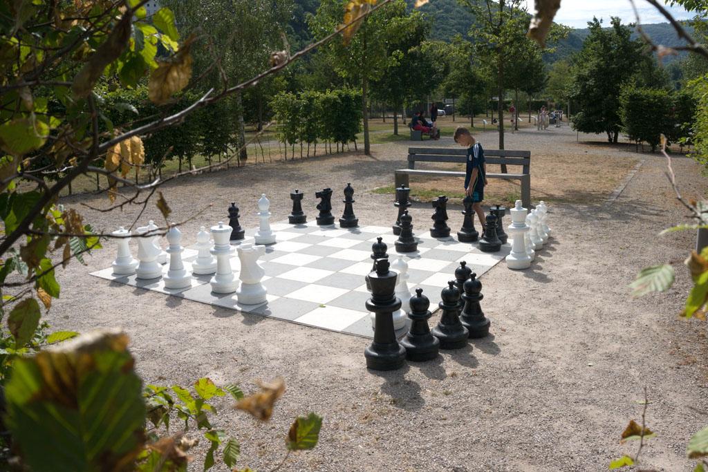 Frei Schach im Park am Mäuseturm 1