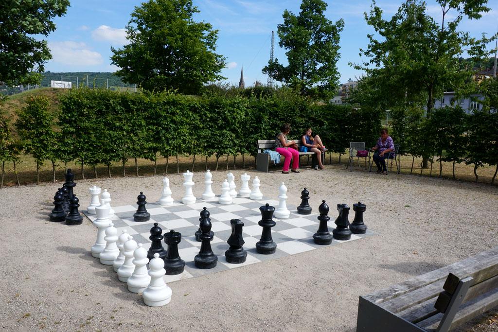 Frei Schach im Park am Mäuseturm 3