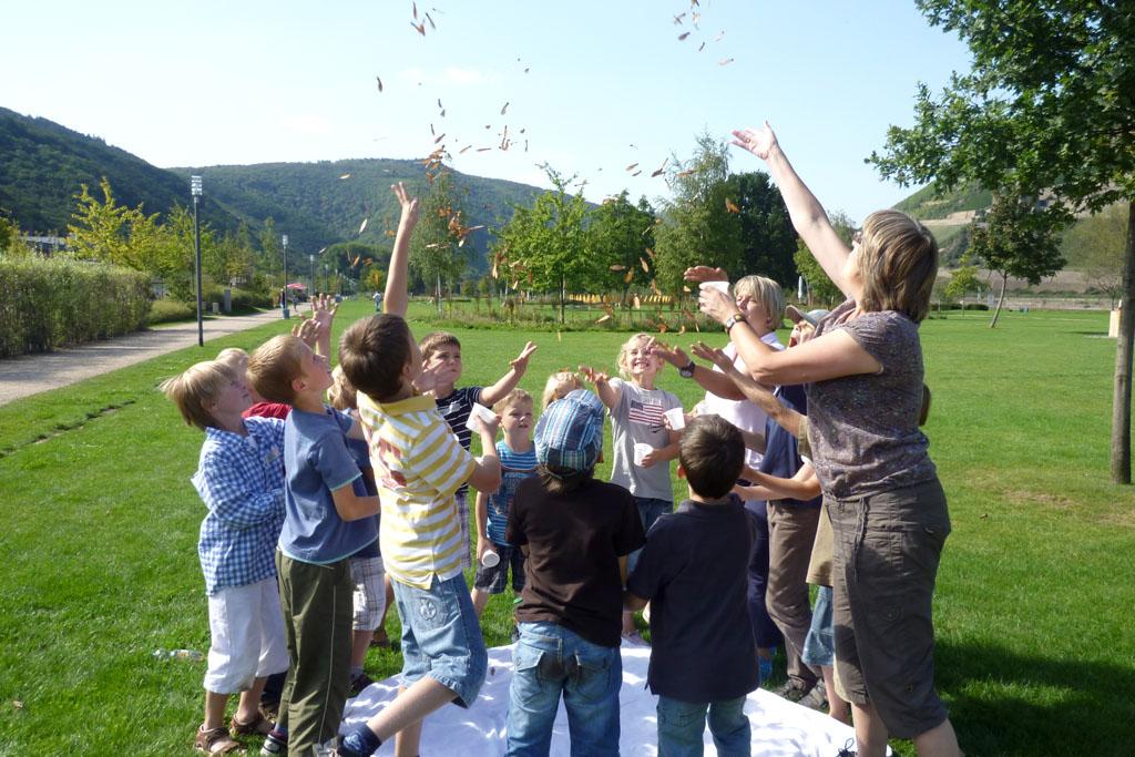 Grünes Klassenzimmer Park am Mäuseturm 1