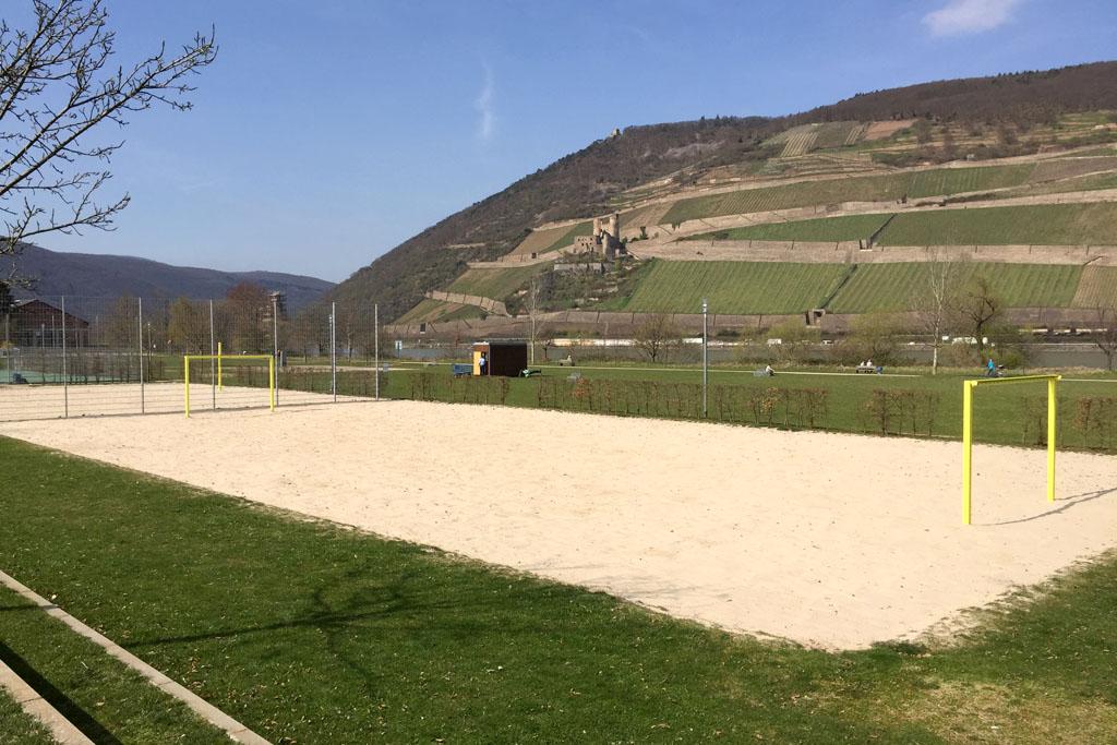 Sand Sportplatz im Park am Mäuseturm 2
