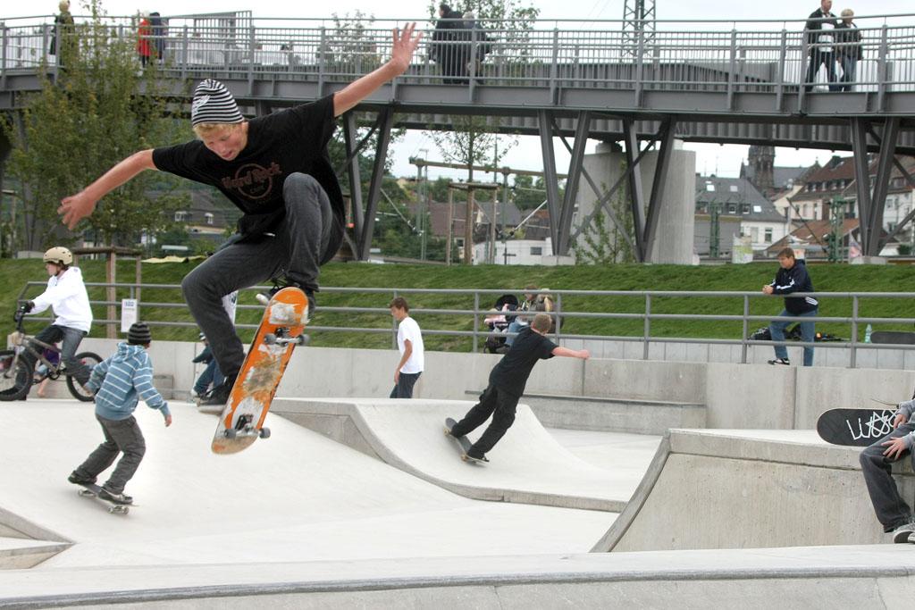 Skateranlage im Park am Mäuseturm 1