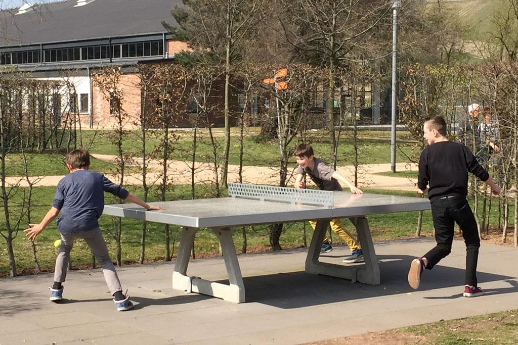 Tischtennis im Park am Mäuseturm 1