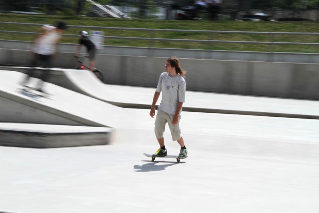 Skateranlage im Park am Mäuseturm 5