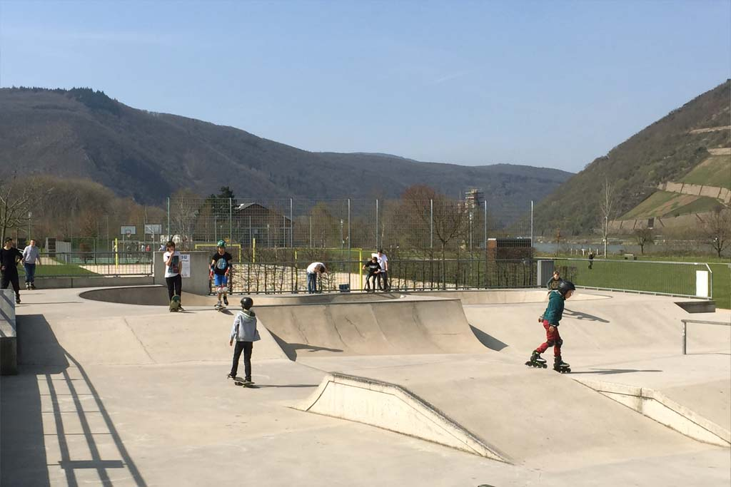 Skateranlage im Park am Mäuseturm 2