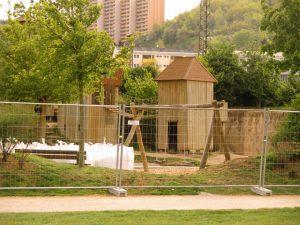 Baustelle Wasserspielplatz